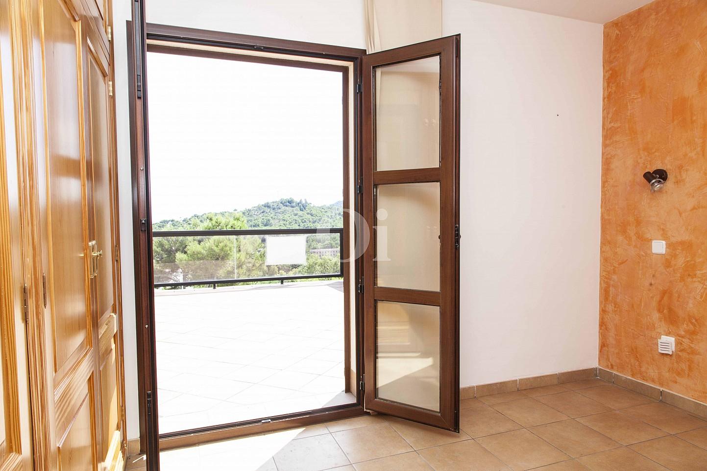 Habitació d'una casa en venda en un exclusiu complex residencial de Mallorca