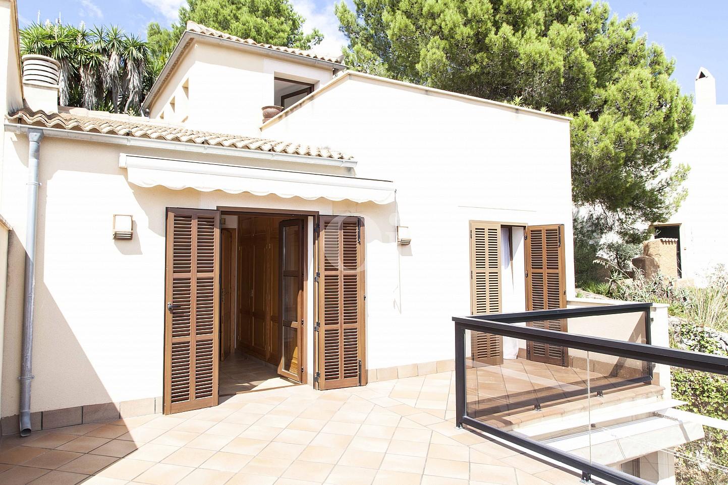 Tserrasse eines Hauses zum Verkauf im exklusiven Wohngebiet Mallorcas