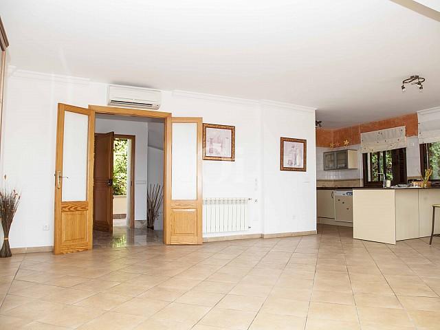 Schlafzimmer eines Hauses zum Verkauf im exklusiven Wohngebiet Mallorcas