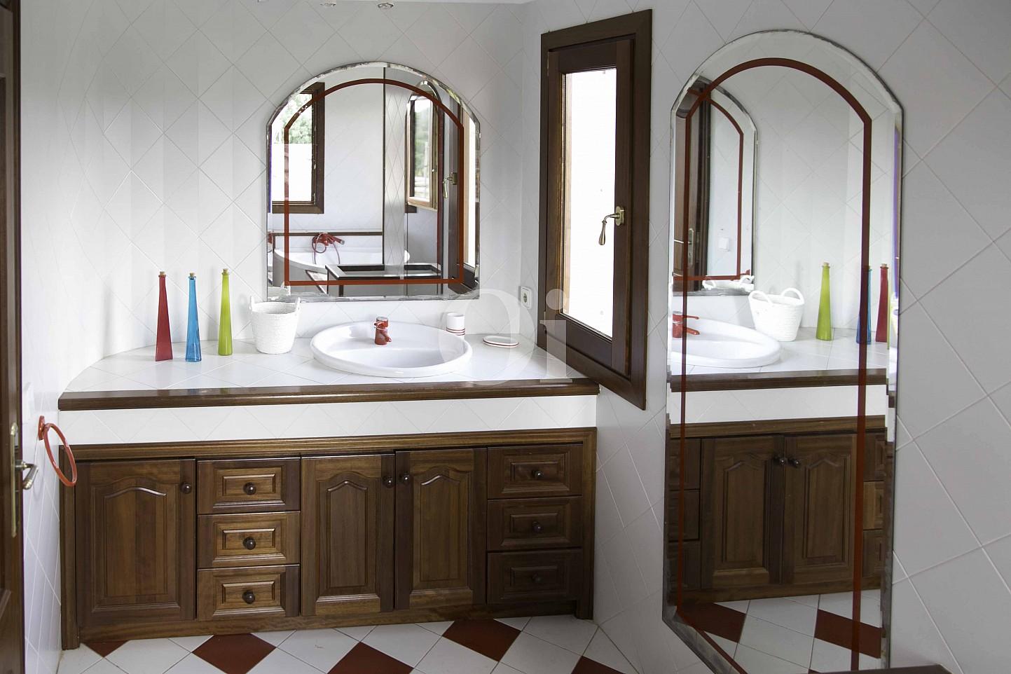 Baño de lujosa villa en venta en San Lorenzo, Mallorca