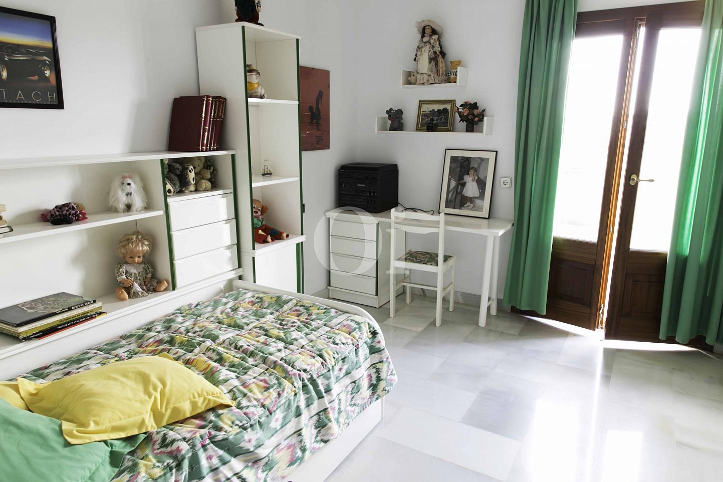 Habitación individual de lujosa villa en venta en San Lorenzo, Mallorca