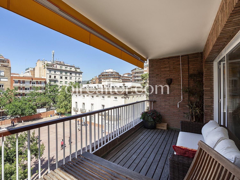 Элегантная квартира с террасой