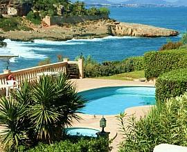 Reihenhaus zum Verkauf in Mallorca, mit wunderbaren Anblicken in Cala Murada.