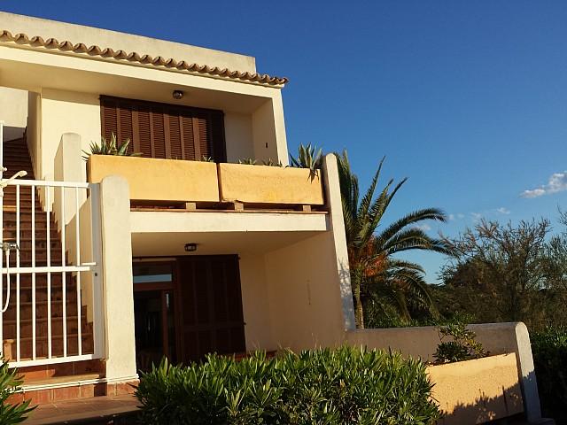 Balkon eines Reihenhauses zum Verkauf in Cala Murada, Mallorca