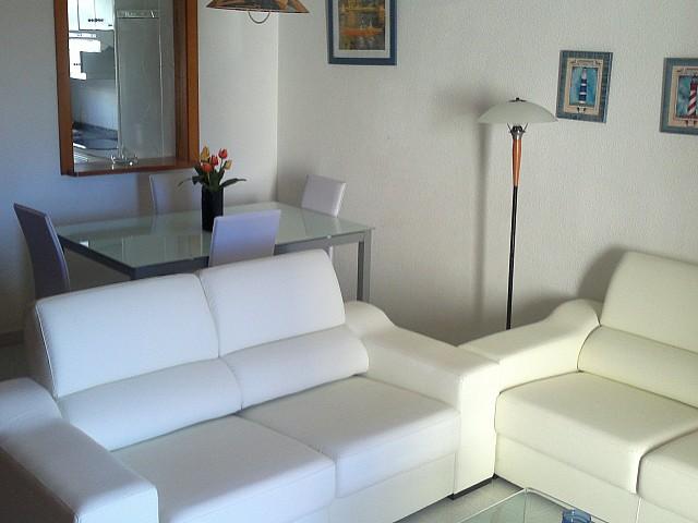 Sala de estar de casa en venta en Mallorca con preciosas vistas