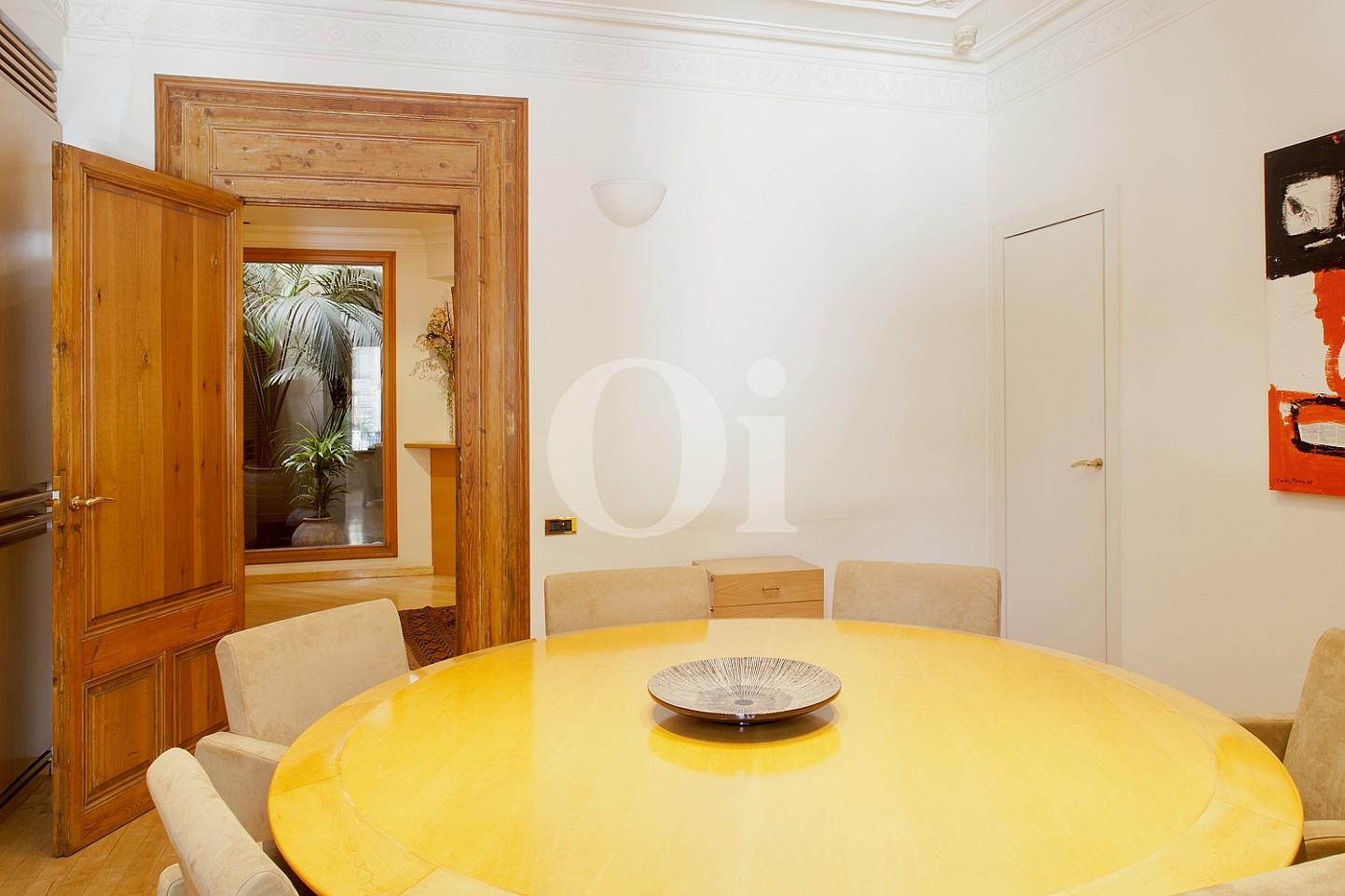 Столовая квартиры недвижимости на продажу в Eixample