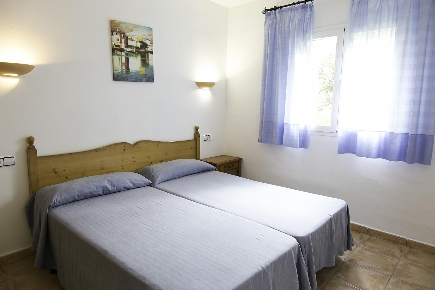 Schalfzimmer eines Hauses zum Verkauf in Villas de Cala Romántica, Mallorca