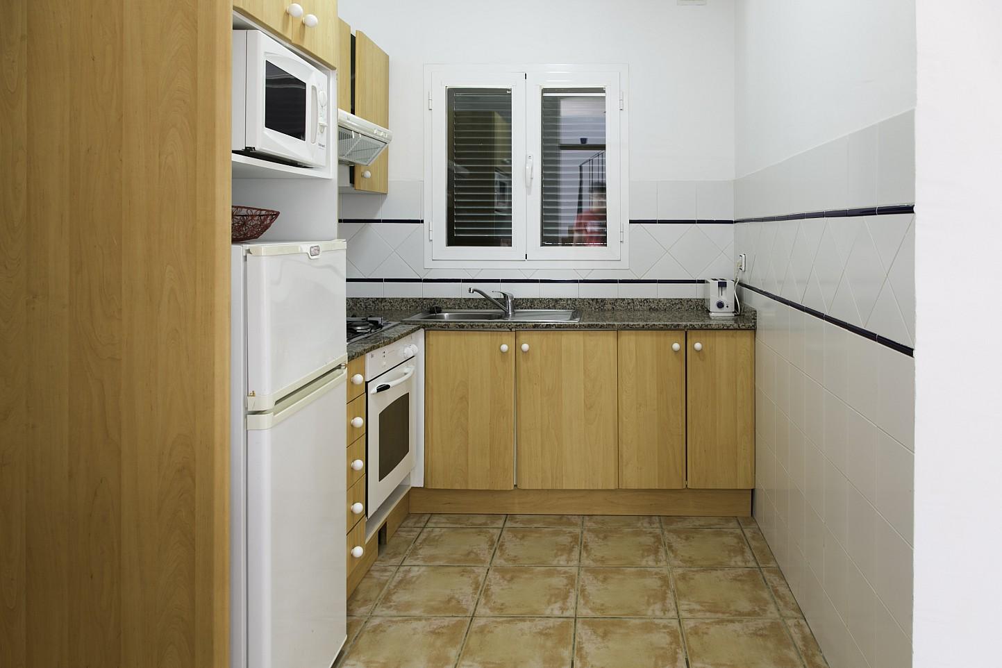 Cocina de bonita casa en venta en Urb. Villas de Cala Romántica en Mallorca