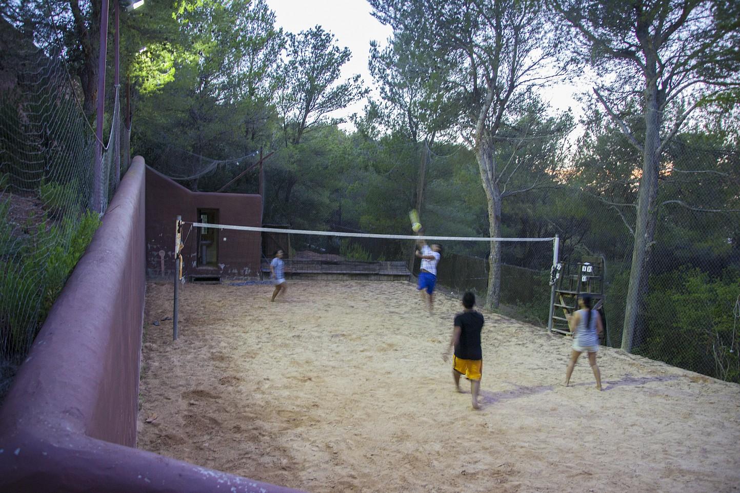 Beach Volleyball Platz