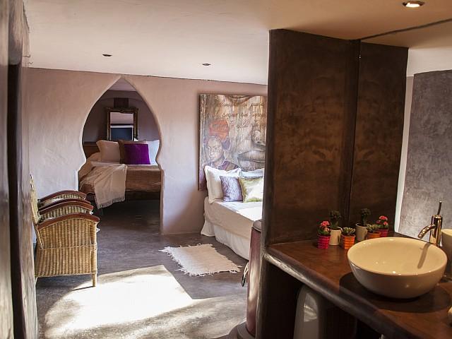 Suite d'una villa única de luxe en lloguer a Portixol, Eivissa