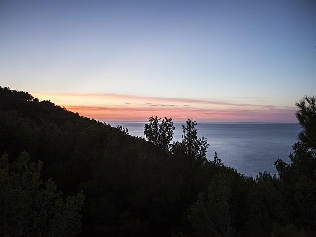 Vistas al mar de preciosa villa en alquiler con vistas panorámicas en San Miguel, Ibiza