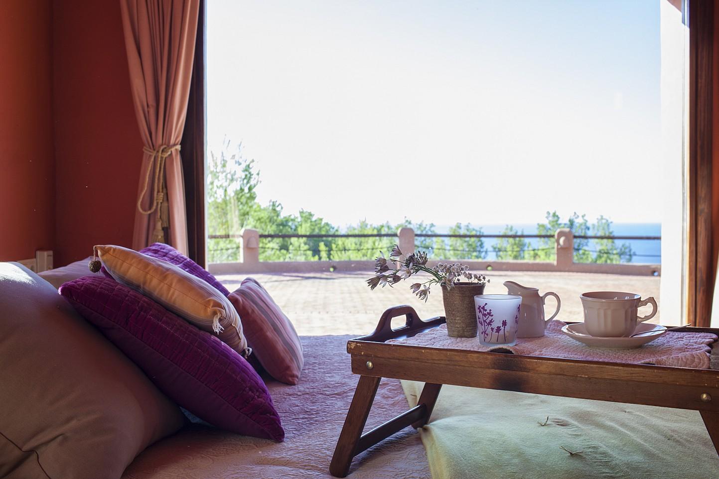 Anblicke von der Terrasse
