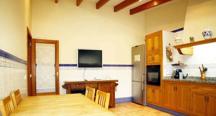 Salón-comedor de casa unifamiliar con mucho encanto en venta en Llucmajor, Mallorca