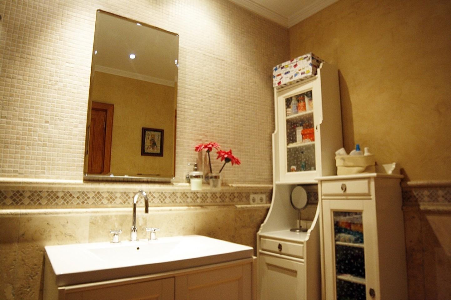 Baño de casa unifamiliar con mucho encanto en venta en Llucmajor, Mallorca