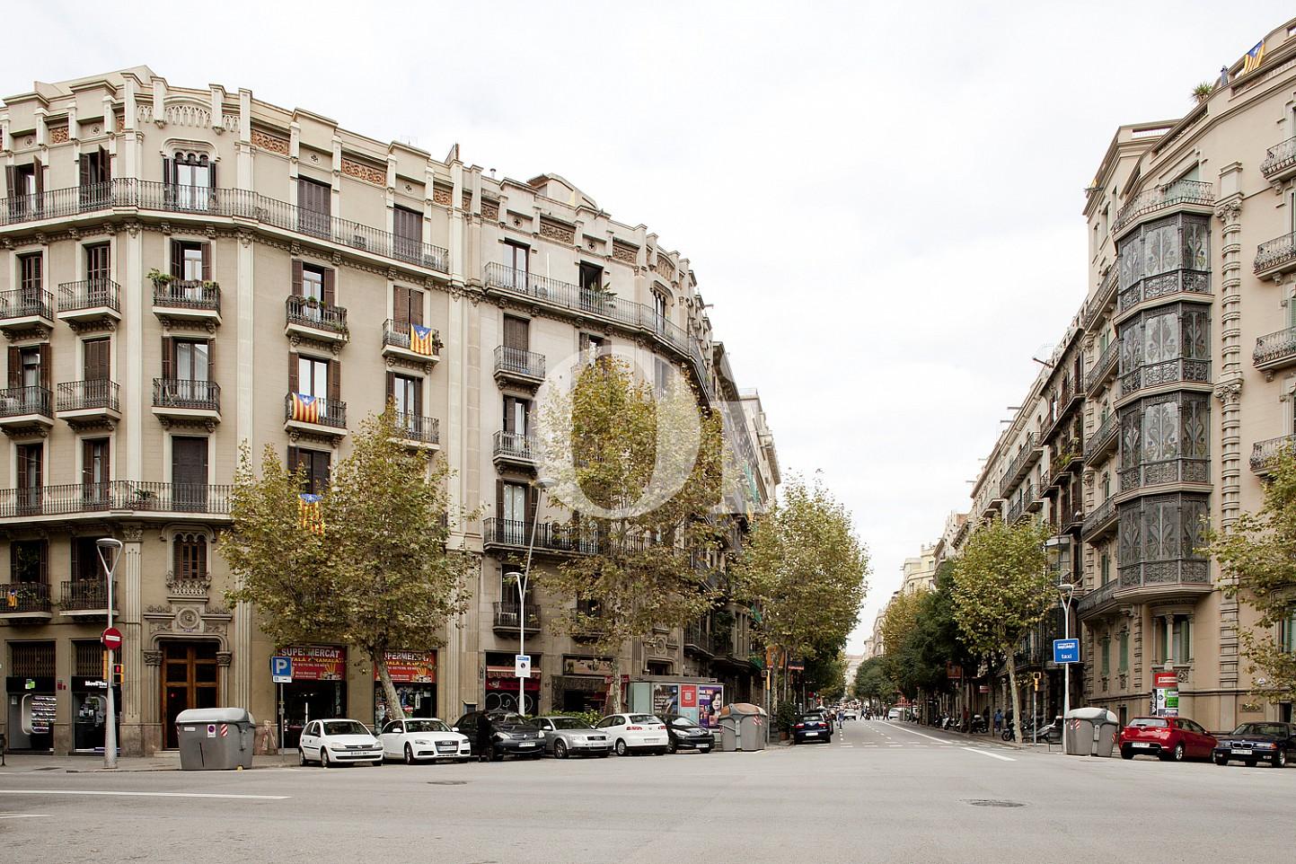 Шикарный вид квартиры на продажу в Eixample Derecho