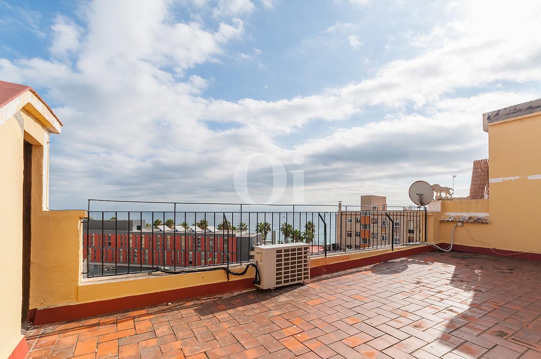 Alrededores de apartamento con espectaculares vistas al mar en venta en la Barceloneta