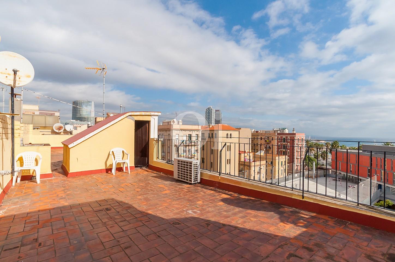Терраса квартиры на продажу на Барселонете