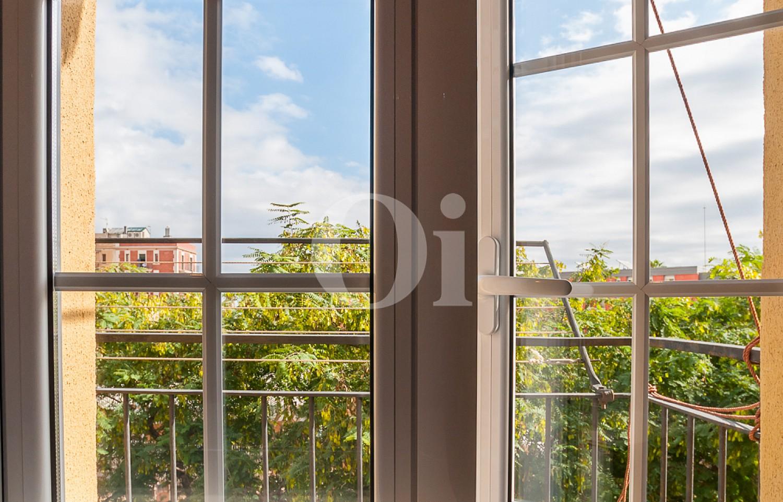 Вид из гостиной квартиры на продажу на Барселонете
