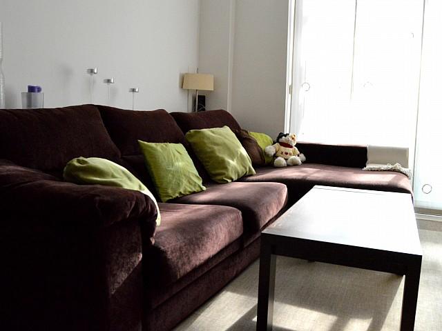 Шикарная гостиная квартиры в аренду в Fort Pienc