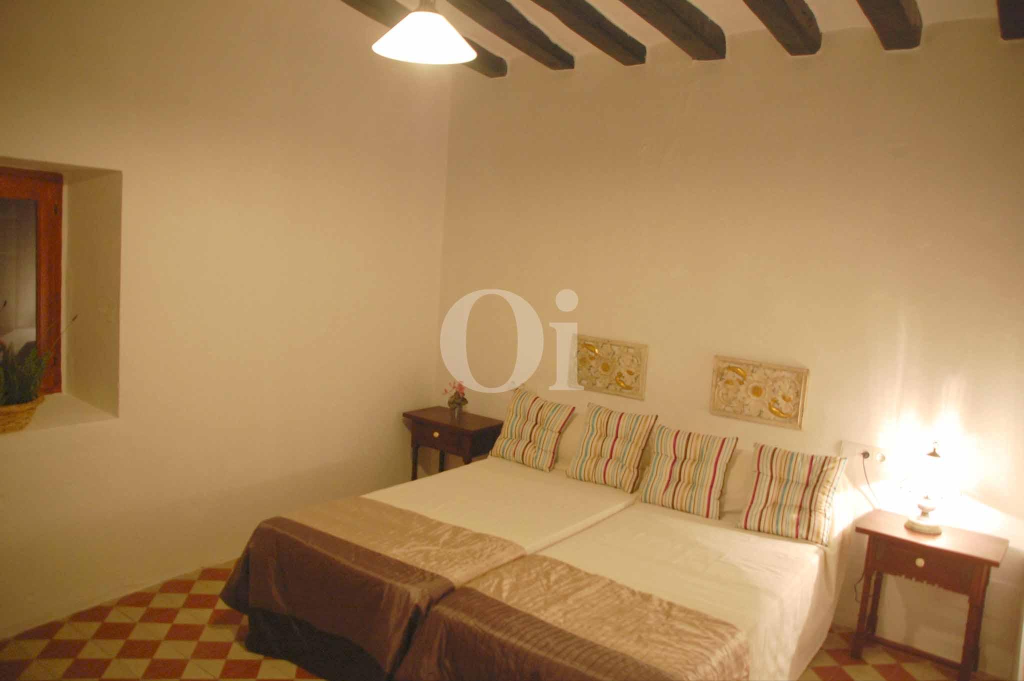 Schlafzimmer eines schönen Haus zur Miete in Ses Salines, Ibiza
