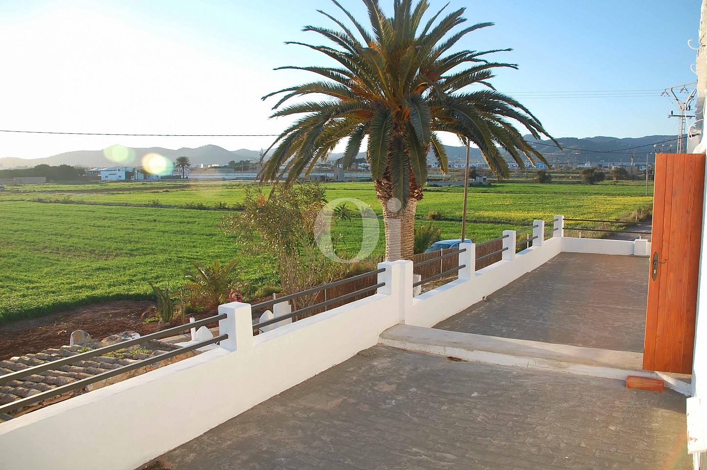 Anblicke eines schönen Haus zur Miete in Ses Salines, Ibiza