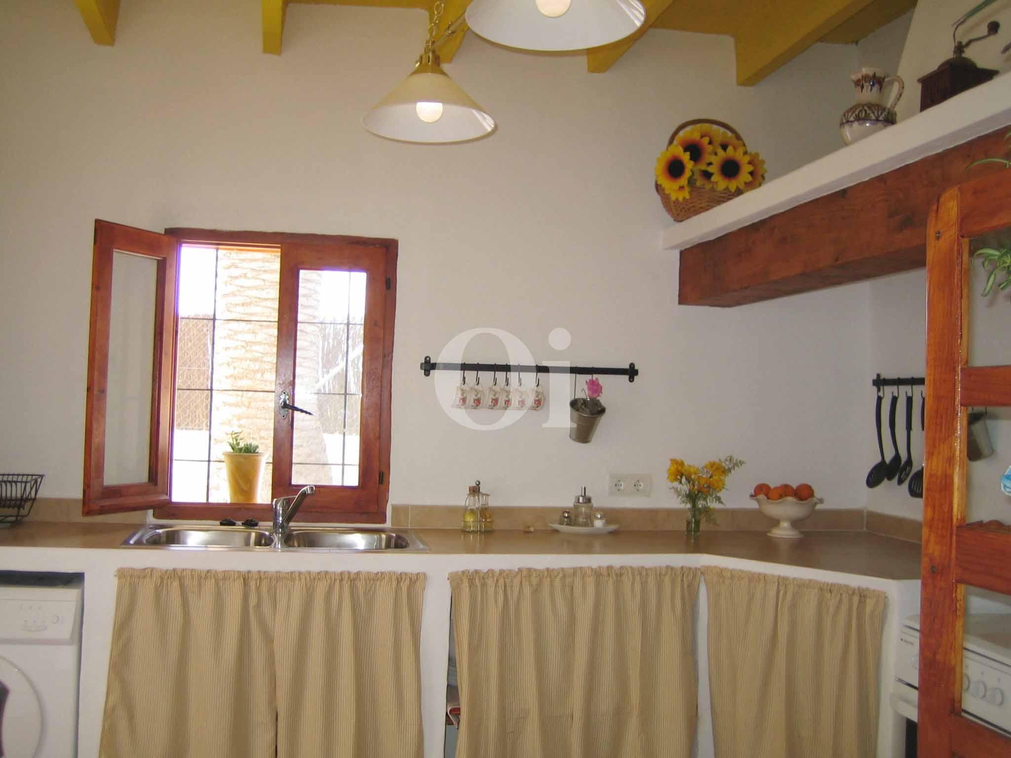 Küche eines schönen Haus zur Miete in Ses Salines, Ibiza