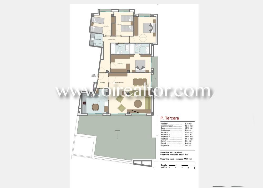 Продается квартира в центре Матаро