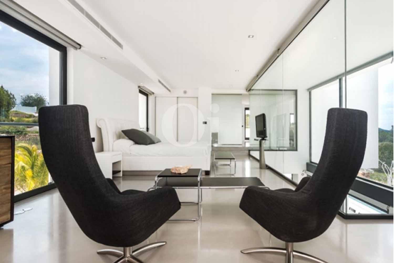 habitación suite de lujosa villa en venta en Santa Gertrudis, Ibiza