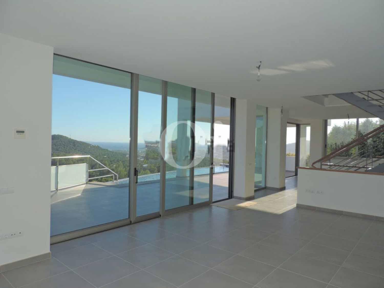 Vistas interiores de impresionante villa en venta en Can Furnet, Ibiza
