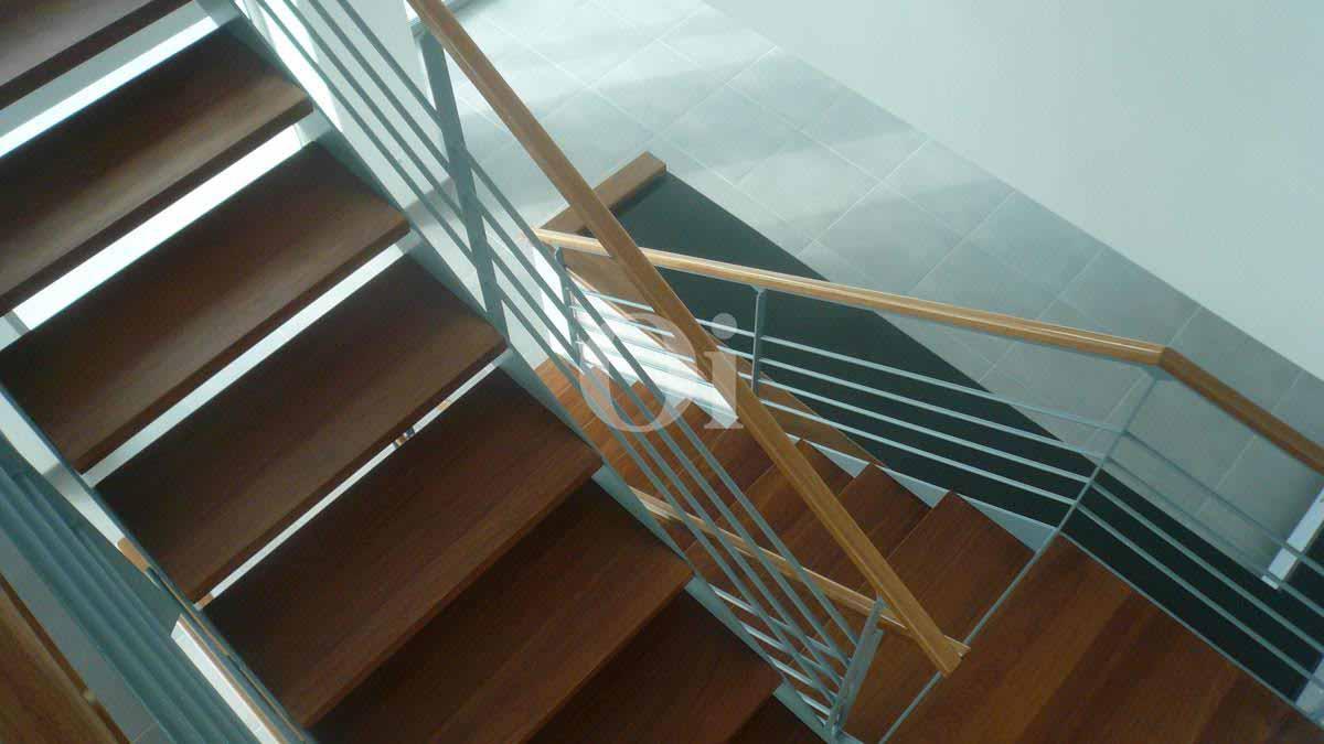 Escaleras de impresionante villa en venta en Can Furnet, Ibiza