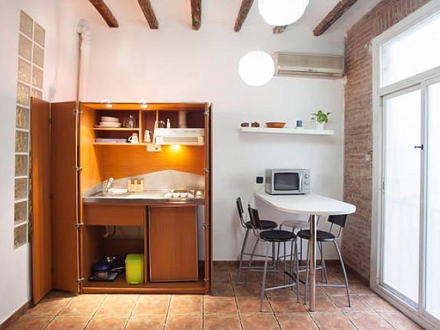 阁楼出租在巴塞罗那的El Raval
