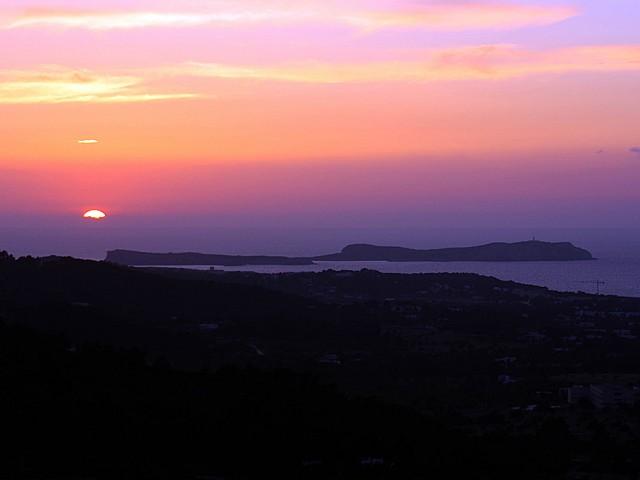 Vistas al mar de preciosa villa en alquiler en San Agustin, Ibiza