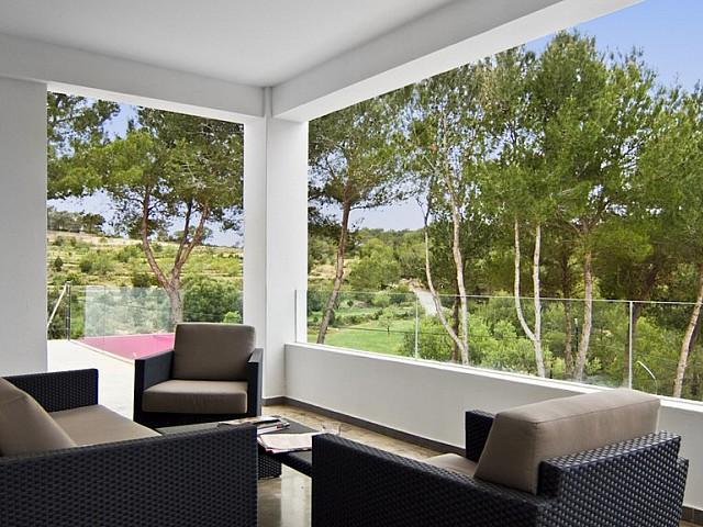 Espai chill out d'una vila en venda a Eivissa