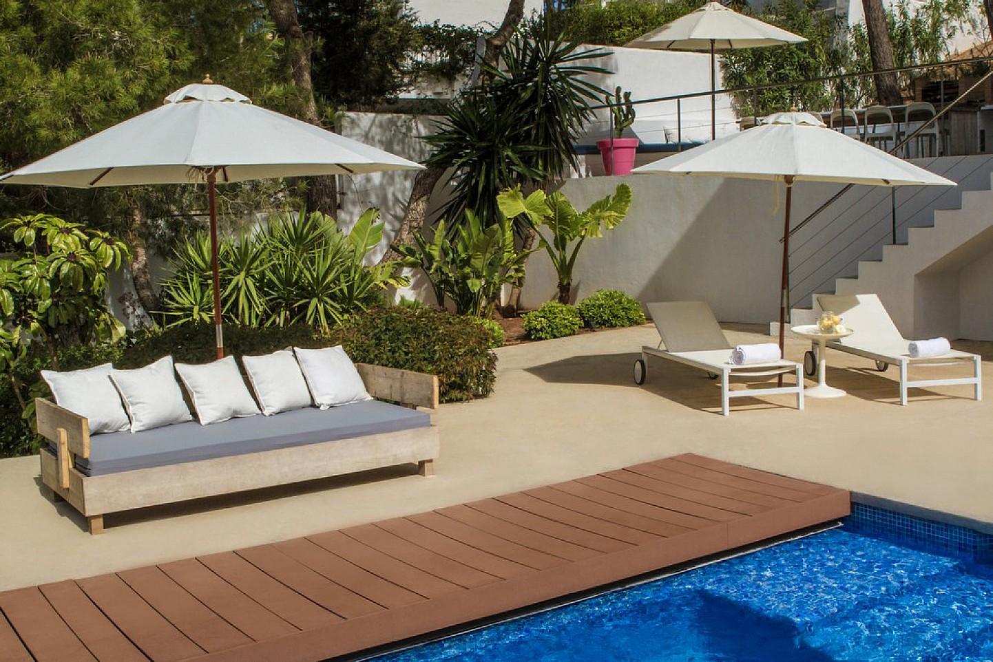 Vistas de exclusiva villa con fantasticas vistas en alquiler, Ibiza