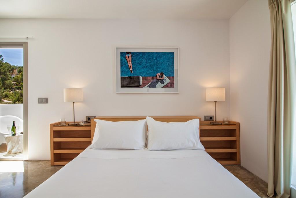 Dormitori amb sortida a l'exterior d'una vila en venda a Eivissa