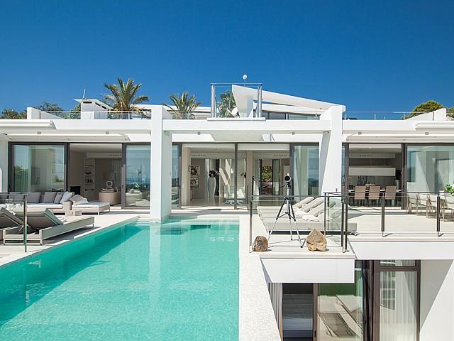 impressionant vila de luxe en lloguer a Es Cubells, Eivissa