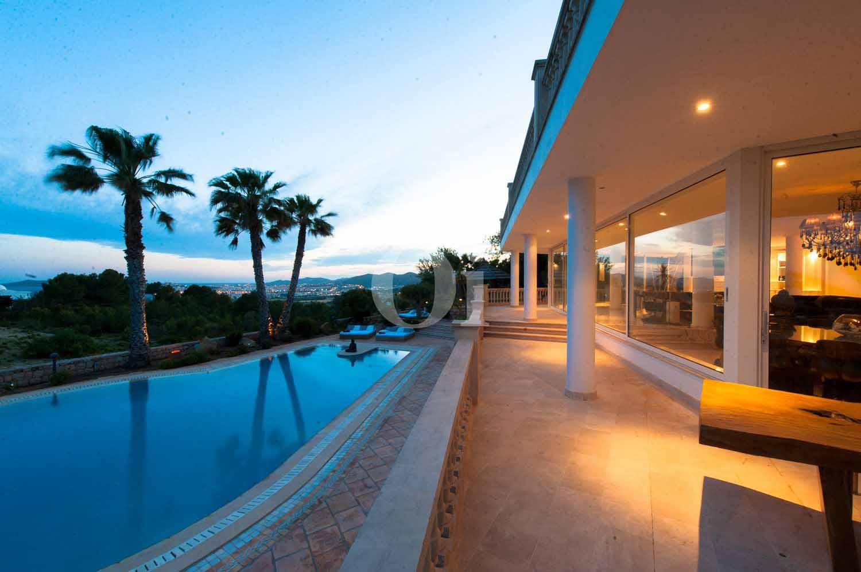 Surroundings of  luxury villa for sale in Jesus, Ibiza