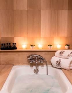 Dormitorio de precioso apartamento en alquiler en Barcelona