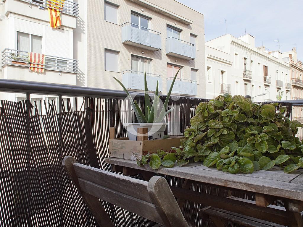 Солнечный балкон квартиры на продажу в Побленоу