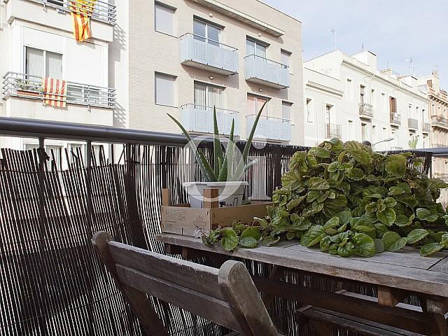 Balcony in flat for sale in Poblenou, Barcelona