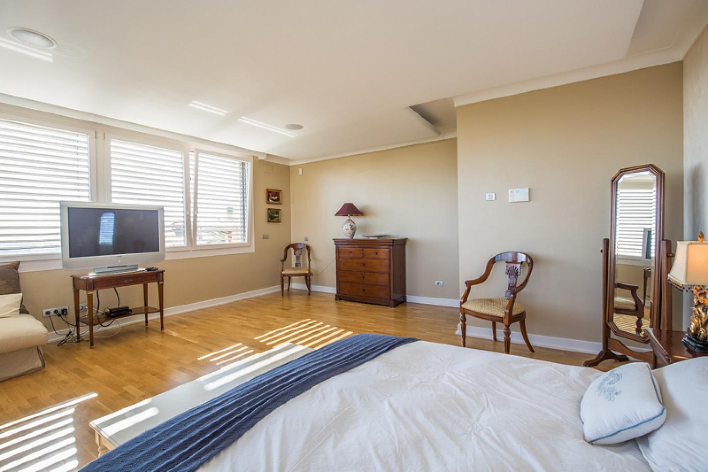 vista de habitación doble en casa de lujo en venta en Lloret de Mar en la Costa Brava