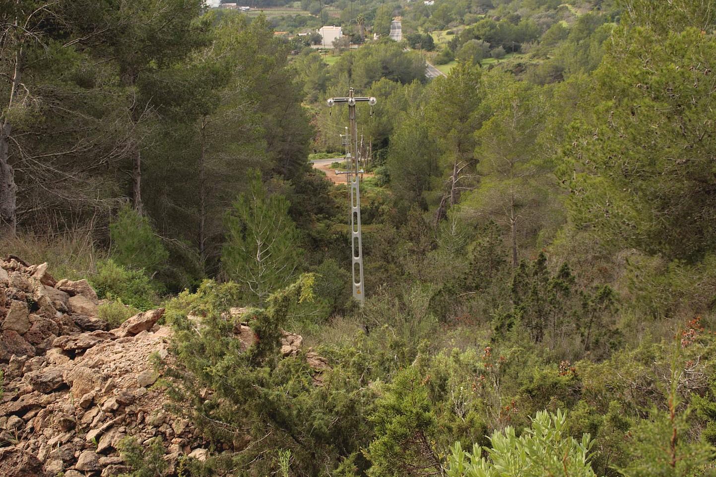 terreno en venta en urbanizacion de lujo en Can Furnet en Ibiza