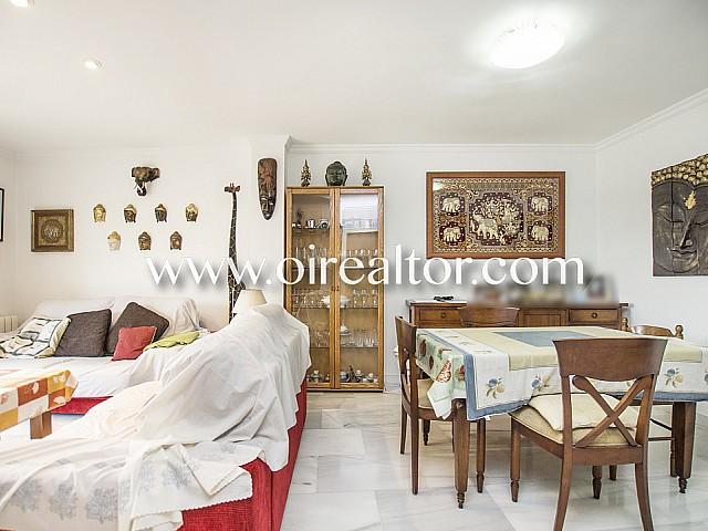 Asombroso piso en venta con jardín de 400m2 en Blanes, Costa Brava