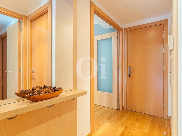 Коридор квартиры на продажу в Побленоу