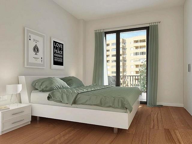 Dormitori d'un dels apartaments