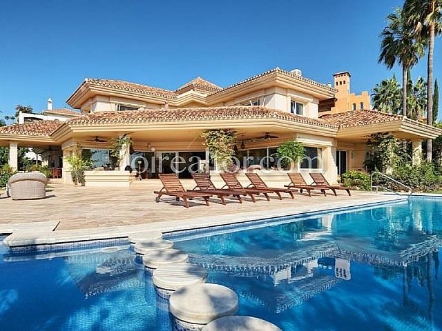 Xalet en venda a Marbella, Malaga.