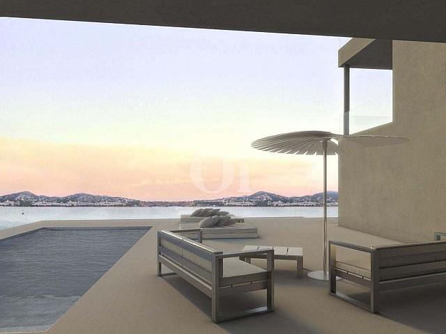 Продается новый дом в бухте Таламанка, Ибица