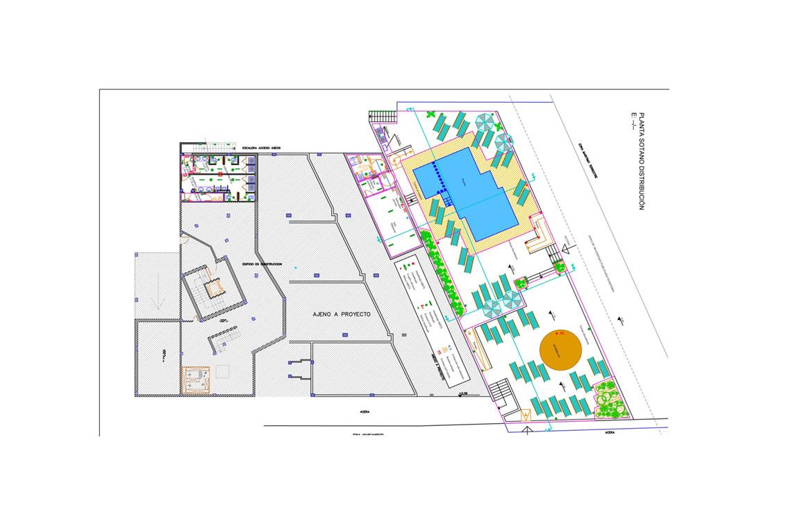План комплекса на продажу в Сант Антони