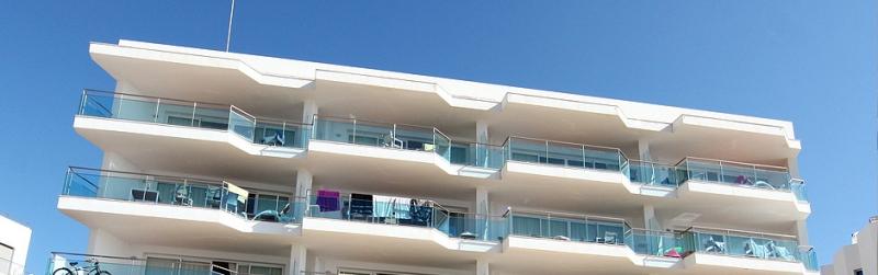 Vista exterior dels apartaments