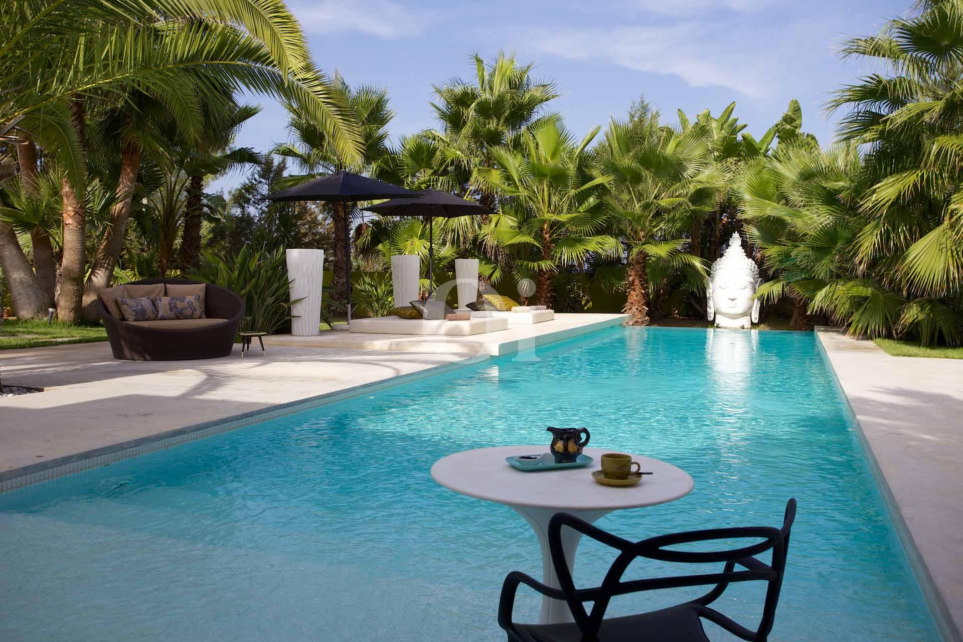 Espectacular piscina exterior